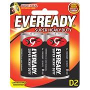 Eveready Zinc D batteries 2s (EVR20SUPERB2)